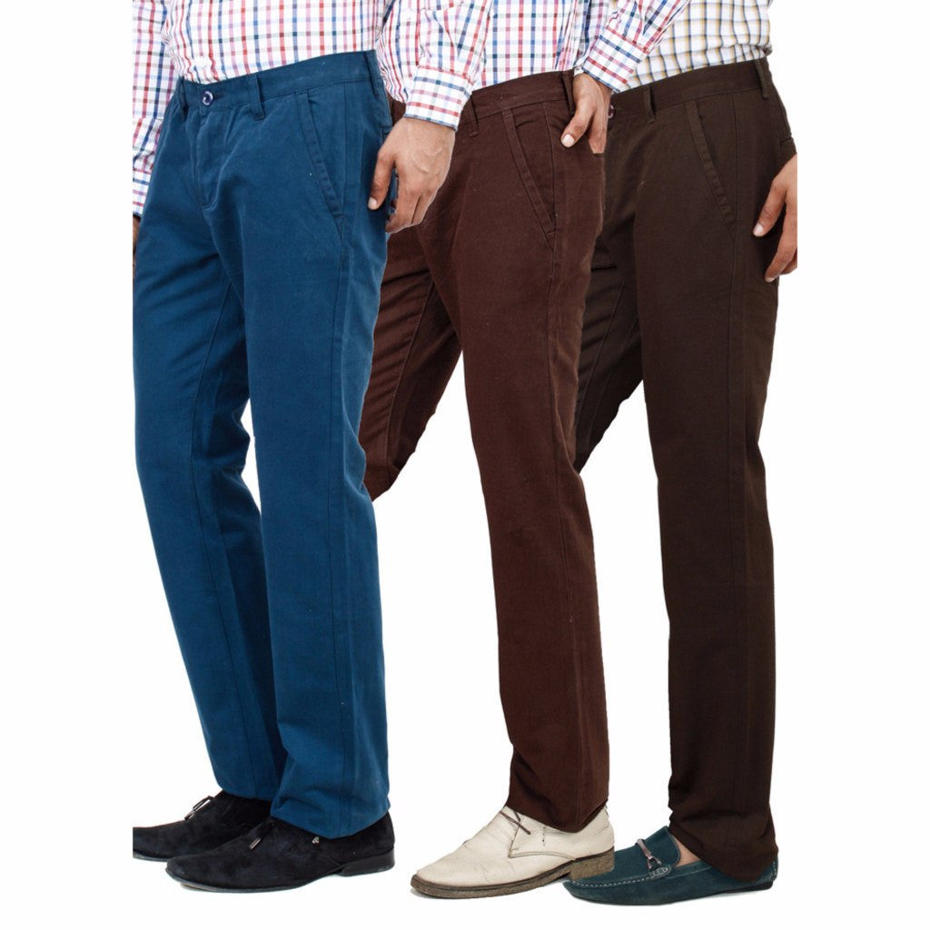 Teal Sienna Khaki chinos side view