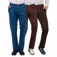 Teal Sienna Khaki chinos for men