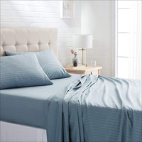 Super King Teal Bedsheet with 4 Pillow Covers