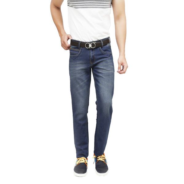 Shady Navy Blue Brone Denim - uber-urban