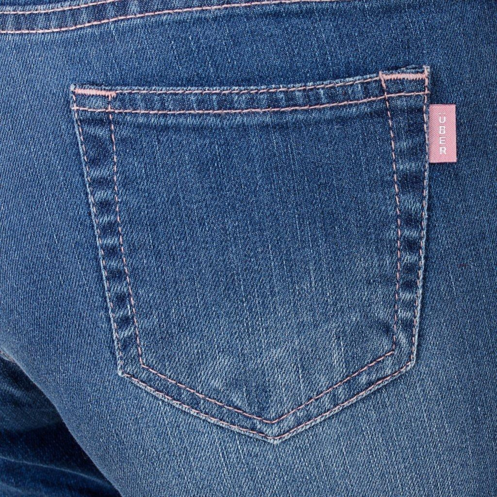 Shado Blue Basik Capri - Über Urban Pants