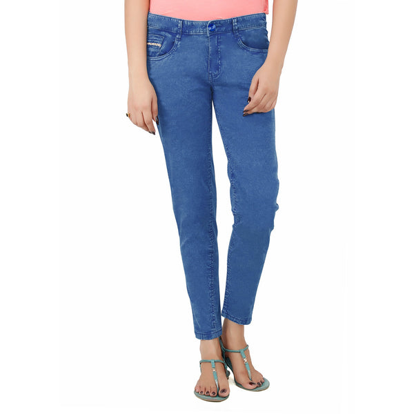 Corn Flower Blue Bellew Pant - uber-urban