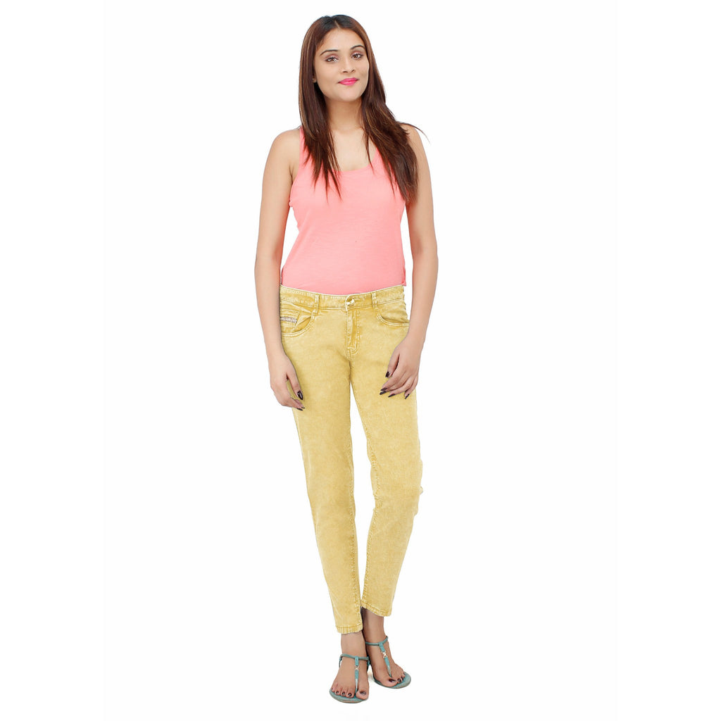 Golden Yellow Belle Pant - Über Urban Pants