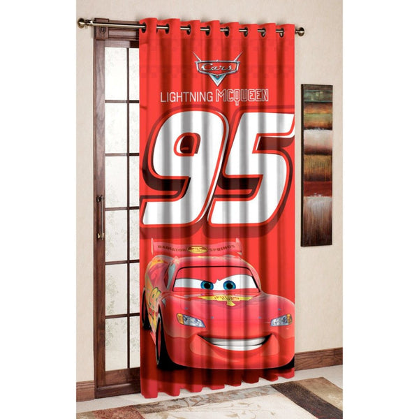 Lightning Mcqueen Door and Window Curtain - Über Urban Curtain