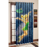 Tinker Girl Polyester Disney cartoon Door and Window Curtain - uber-urban