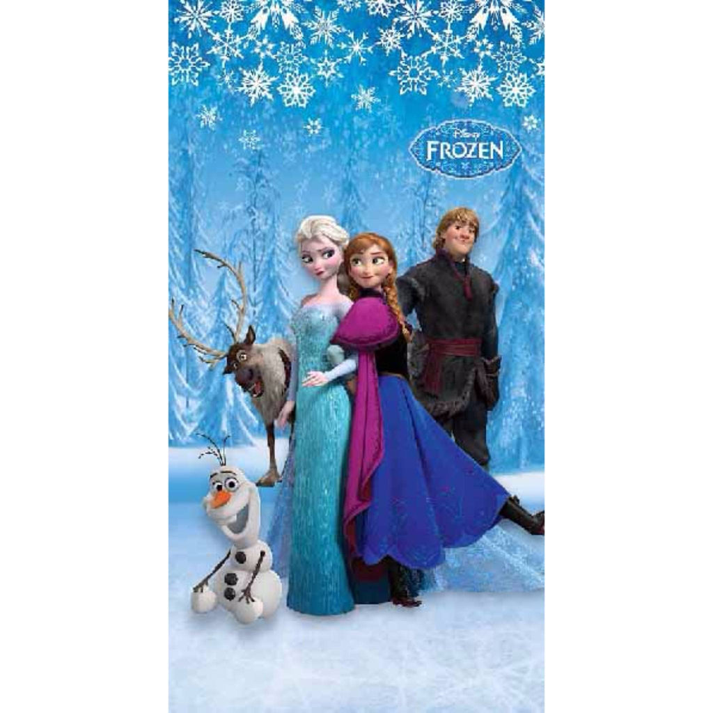 Frozen Snow Polyester Disney cartoon Door and Window Curtain - Über Urban Curtain