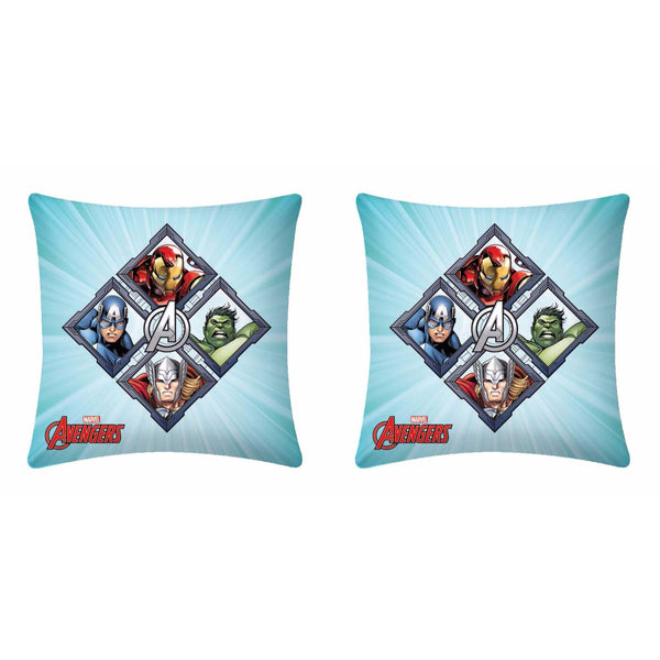 Avenger Fighters Polyester Cartoon Cushion Cover - 1 Piece Pack