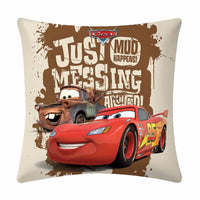 Mud racer  Disney Cartoon Cushion Cover- 1 piece pack - uber-urban
