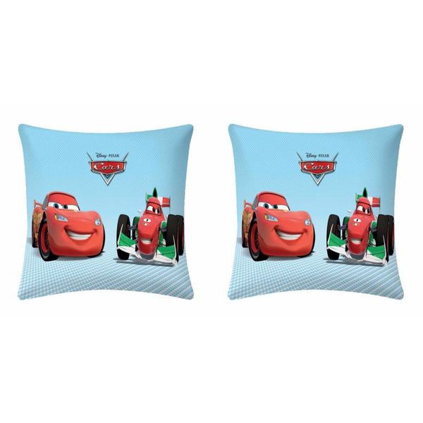 Disney Cars Lightning McQueen Cushion Cover (Pack Of Two) - uber-urban