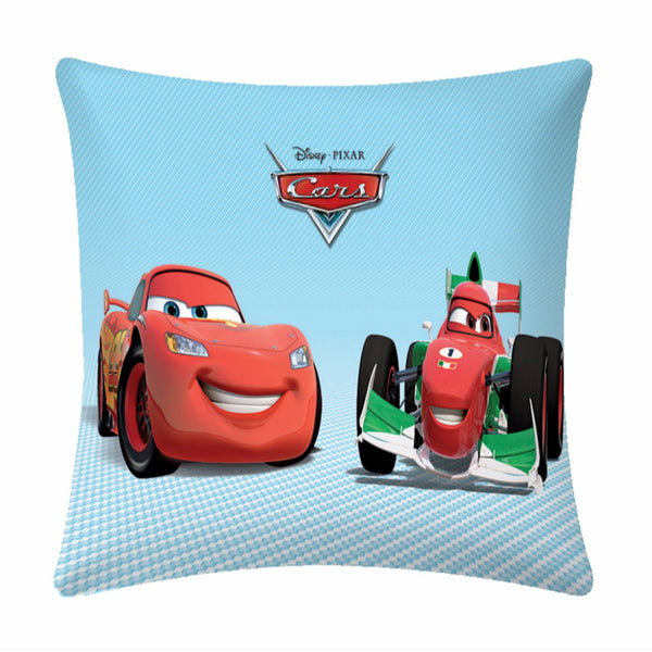 Race car smiles  Disney Cartoon Cushion Cover- 1 piece pack