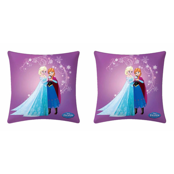 Disney Frozen Anna And Sofia Cushion Cover - 2 piece pack - uber-urban