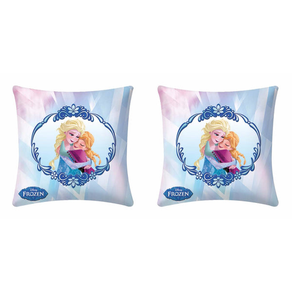 Disney Frozen Sofia Anna Hug Cushion Cover (Pack Of Two)