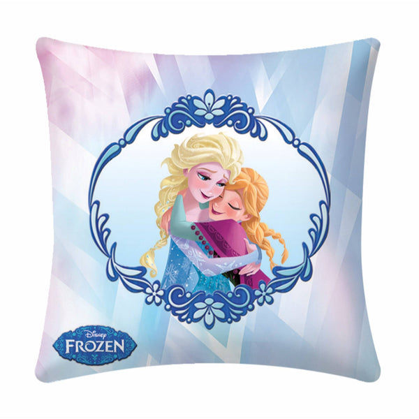 Disney Frozen Anna And Sofia Cushion Cover- 1 piece pack - uber-urban