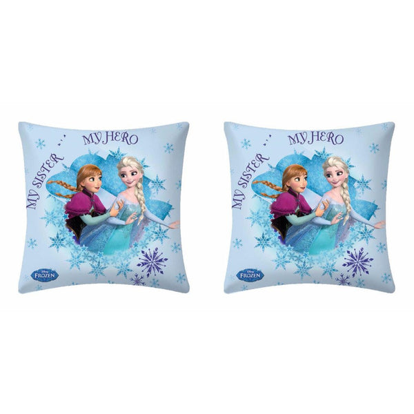 Disney Frozen My Sister My Hero Cushion Cover (Pack Of 2) - uber-urban