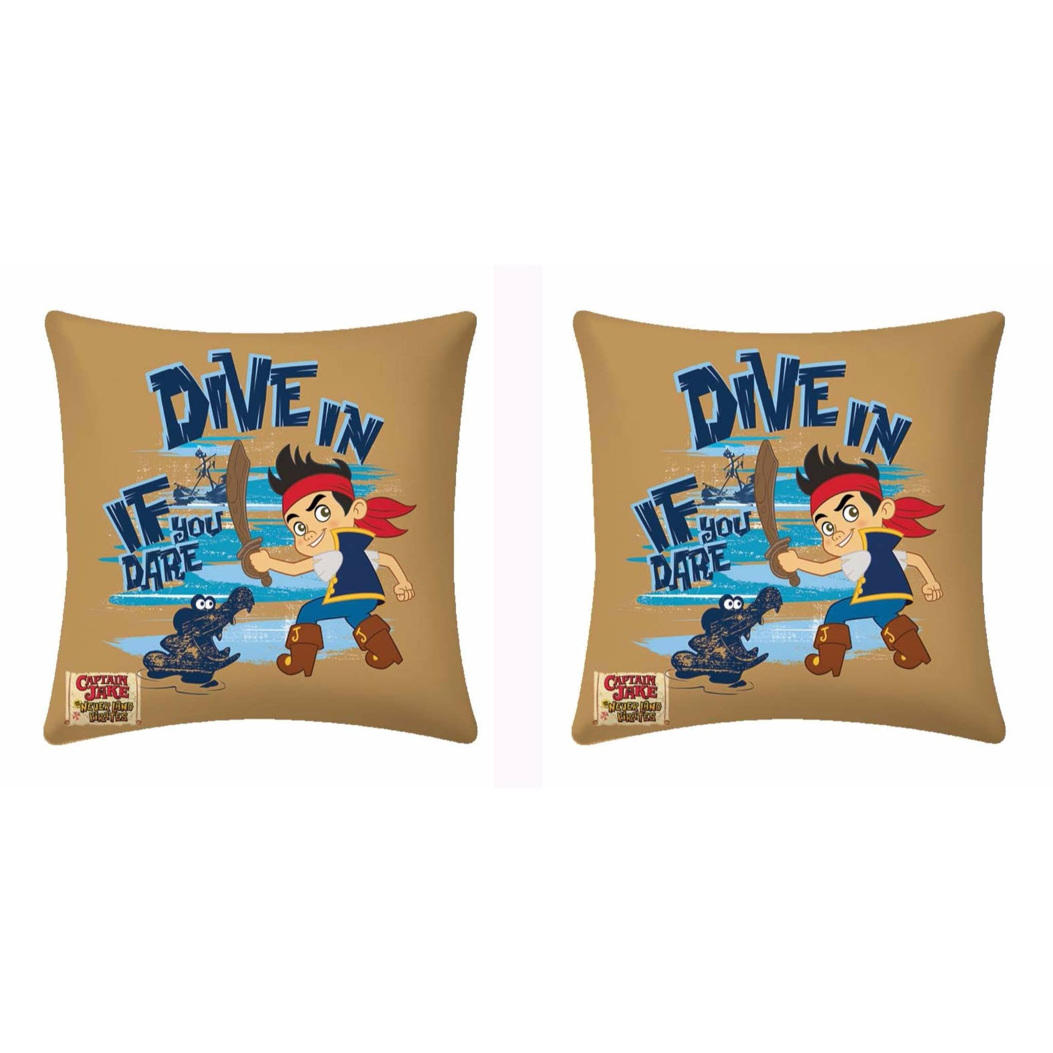 Disney If You Dare Dive In Cushion - Two piece pack - Über Urban Cushion