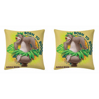 Disney Born To Boogie Cushion Cover (Pack Of Two) - uber-urban