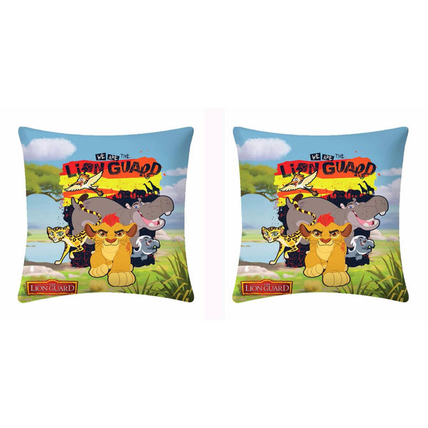 Disney We Are The Lion Guard Cushion Cover - 2 Piece Pack - uber-urban