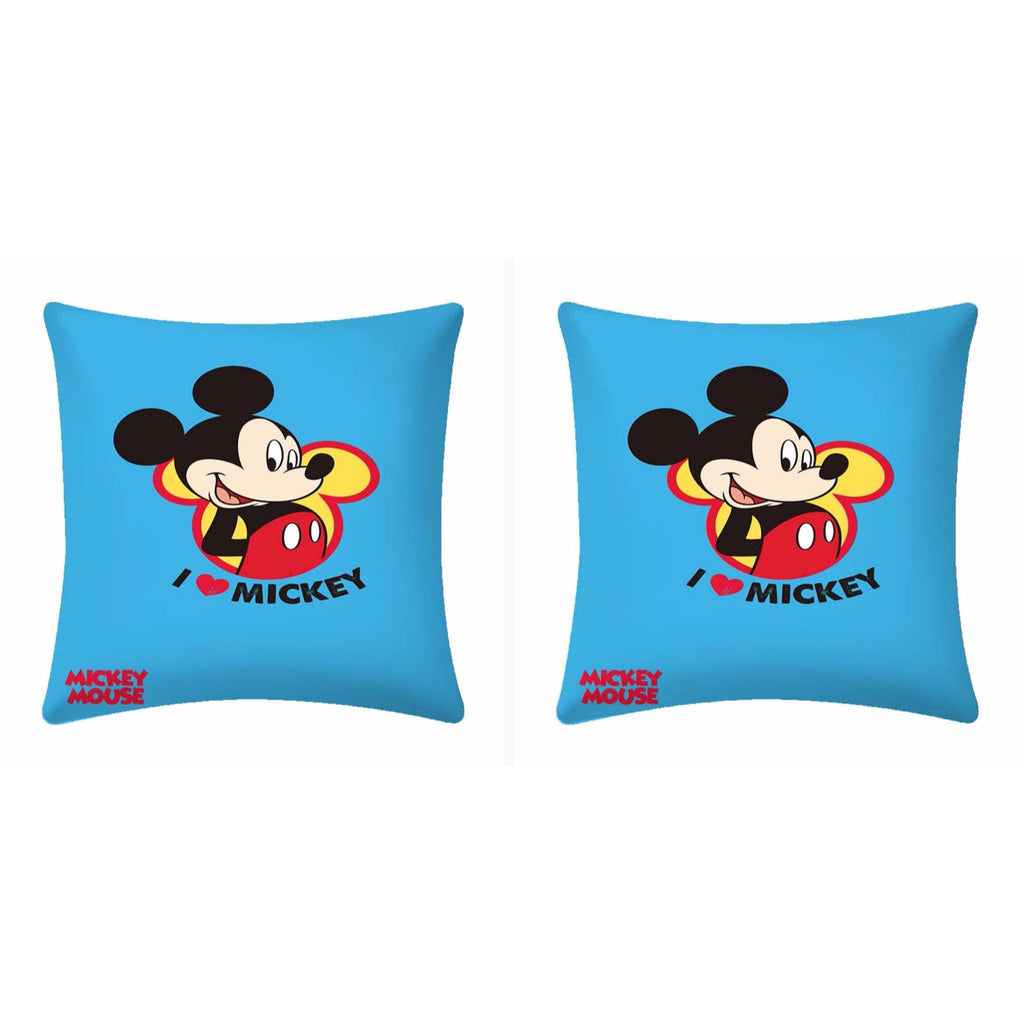 Disney I Love Mickey Mouse Cushion- 2 piece pack - Über Urban Cushion