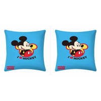 Disney I Love Mickey Mouse Cushion Cover- 2 piece pack