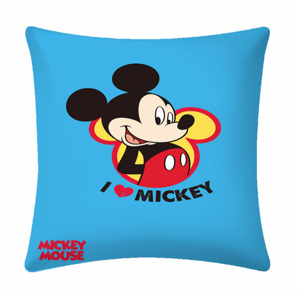 Disney I Love Mickey Mouse Cushion Cover- 1 piece pack
