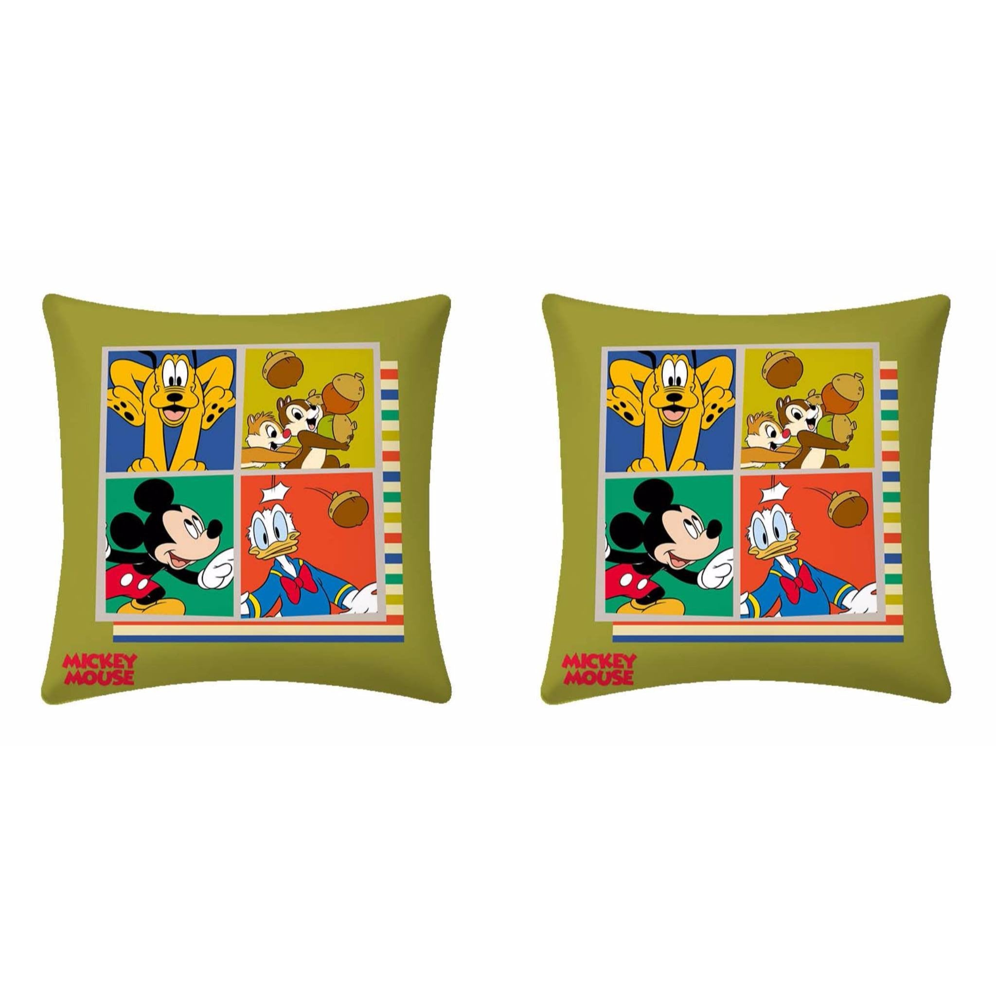 Disney Mickey Mouse Family Cushion - 2 piece pack - Über Urban Cushion
