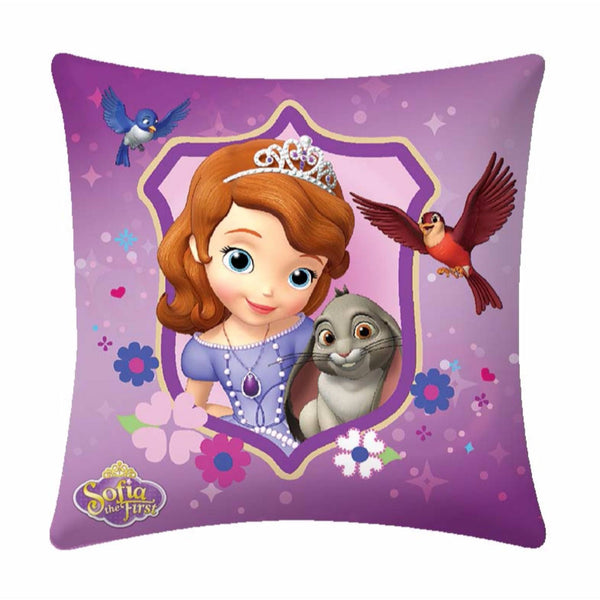 Sofia The First  Disney Cartoon Cushion Cover- 1 piece pack