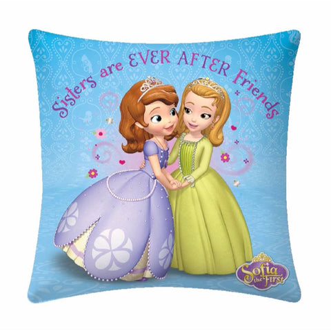 Sister Friends Polyester Filled Disney Cartoon Cushion- 1 piece pack - Über Urban Cushion
