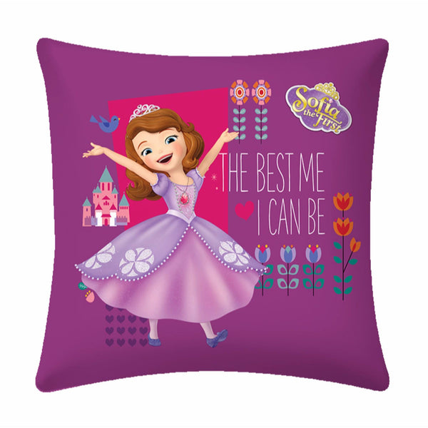 Sofia the Confident  Disney Cartoon Cushion Cover- 1 piece pack