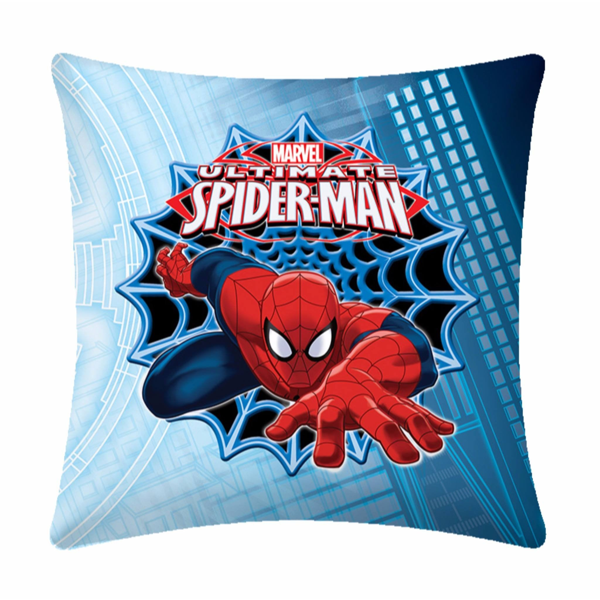 Furious Spiderman Polyester Cartoon Cushion- 1 Piece Pack - Über Urban Cushion