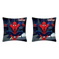 Marvel Spider Man Jumping Cushion Cover - Pack Of Two - uber-urban