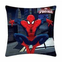 Landing Spiderman Polyester Cartoon Cushion- 1 Piece Pack - Über Urban Cushion