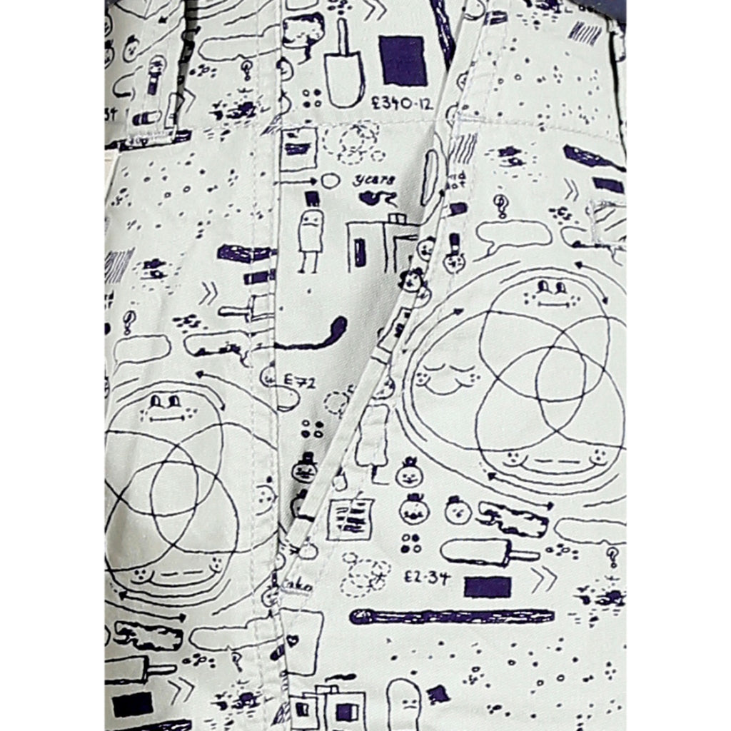 Geogram Doodle Shorts close up view