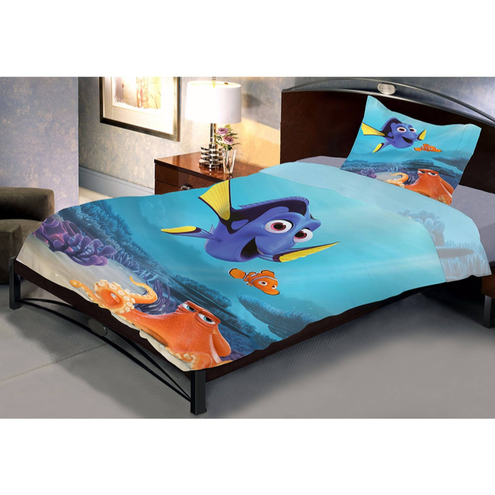 ... Finding Dory Single Bed Sheet And Pillow Cover   Über Urban Bedsheet