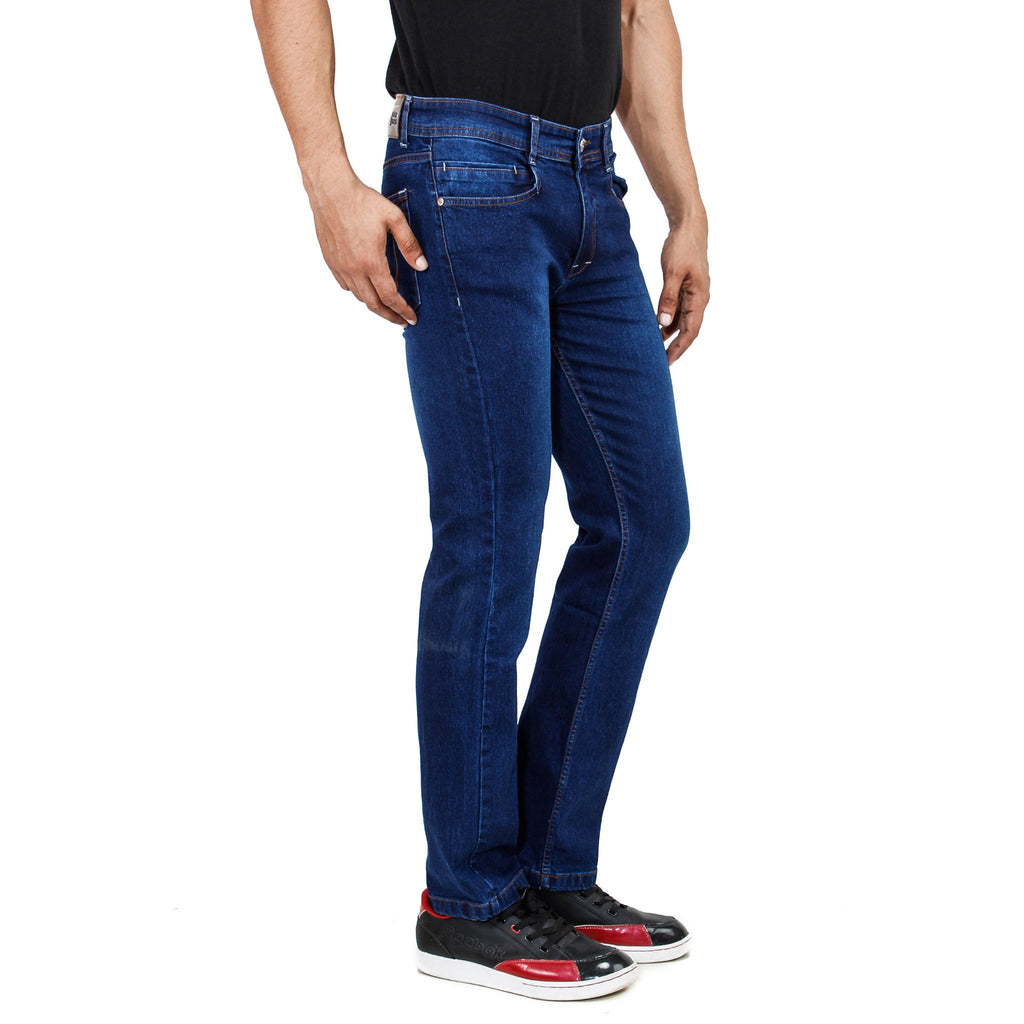 Uber Royal Blue Jeans left side view