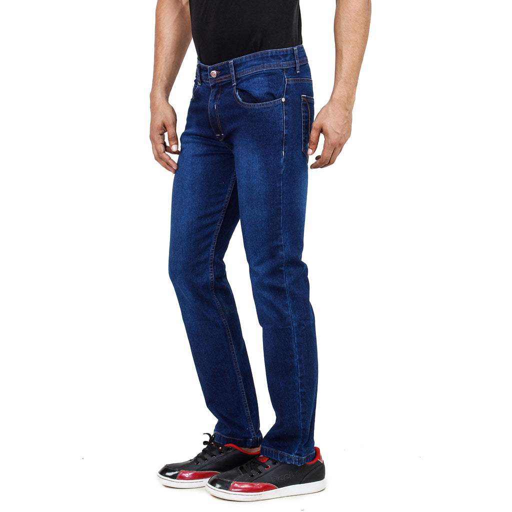 Uber Royal Blue Jeans right side view