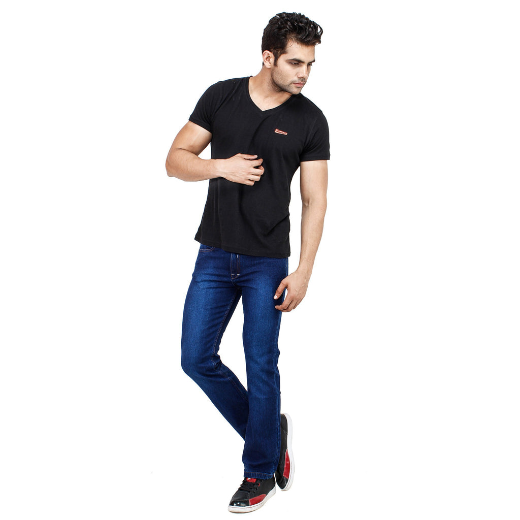 Uber Royal Blue Jeans full view