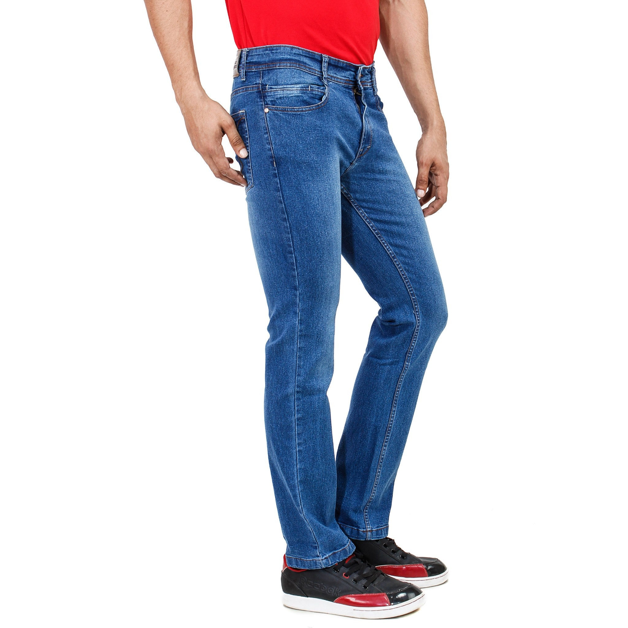 Shady Blue Jeans side view