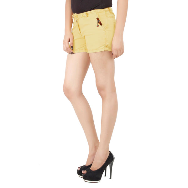Golden Yellow Frida Shorts
