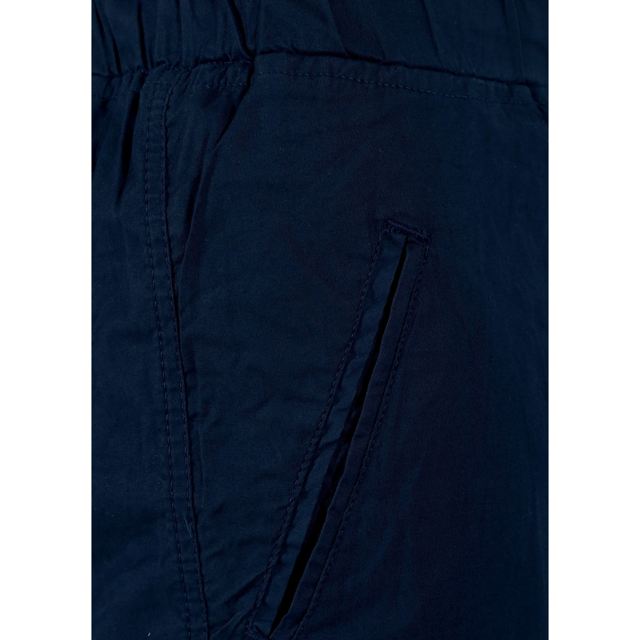 Uber Blacklue Cotton Trouser close up view