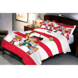 Disney Jake Pirate Double Bedsheet With 2 Pillow Covers