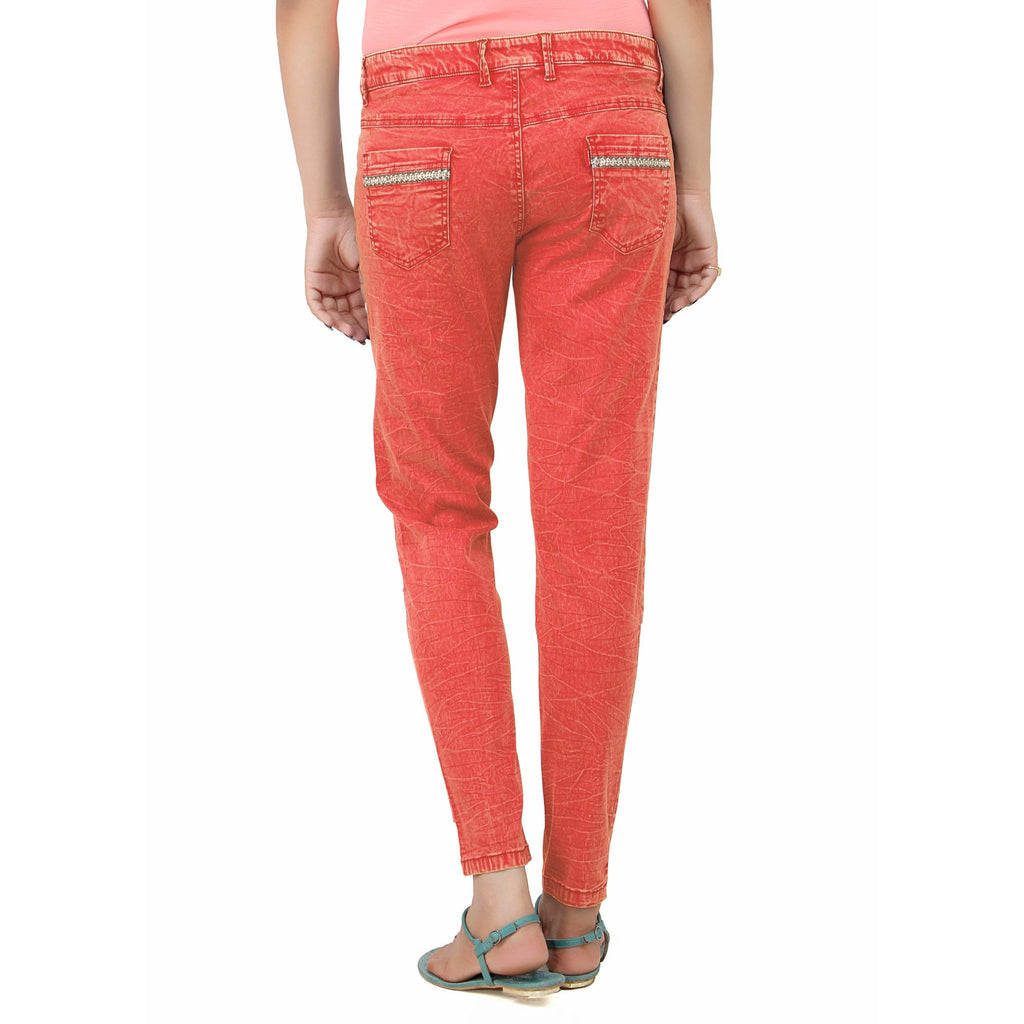 Puff Red Krack Pant - Über Urban Pants