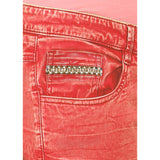 Puff Red Krack Pant
