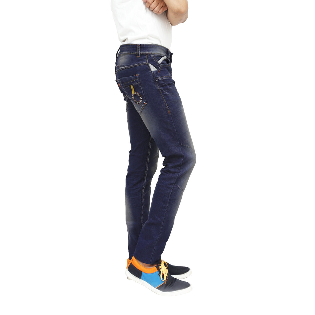 Sooty Black Stretchable Jeans right side view