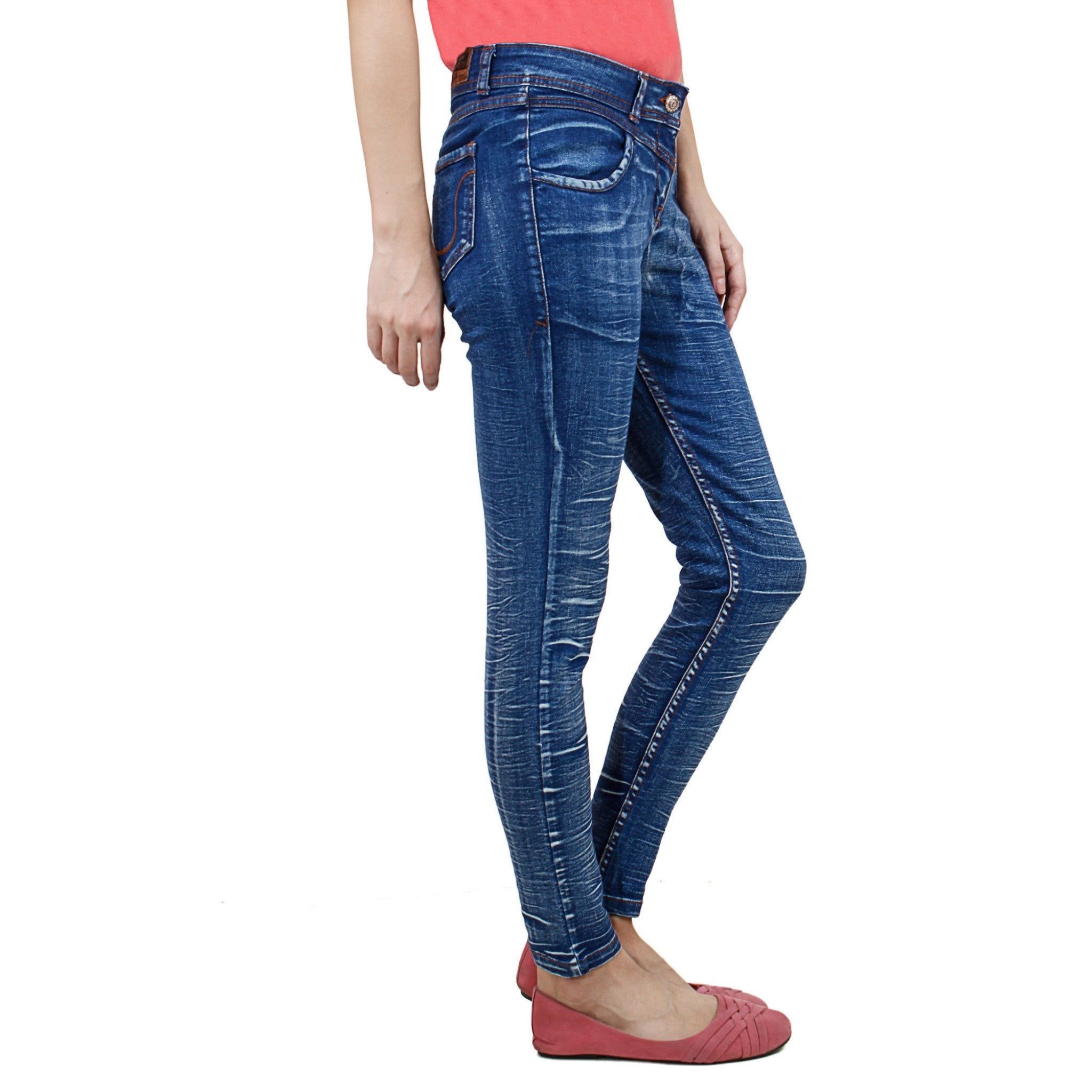Uber Blue Denim Jeans right side view