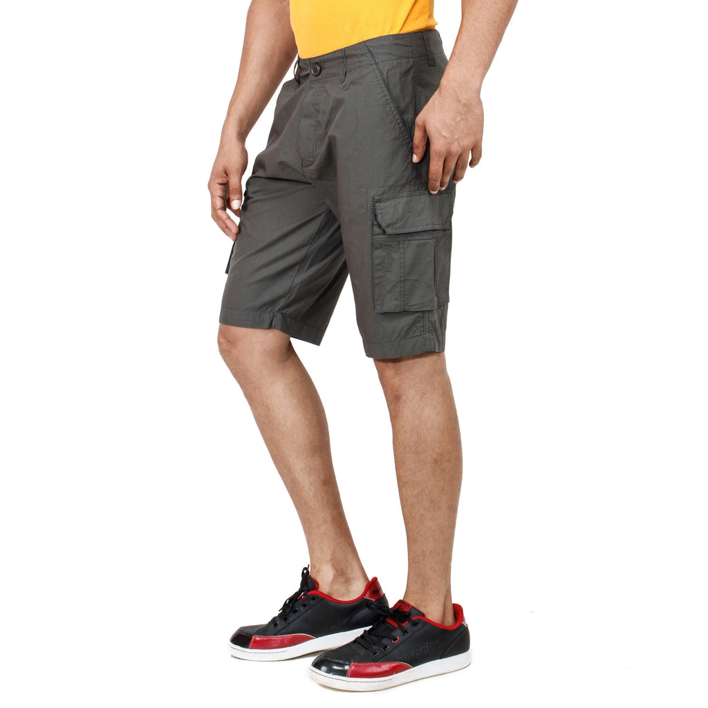 Uber Dimgray Pop Shorts left side view
