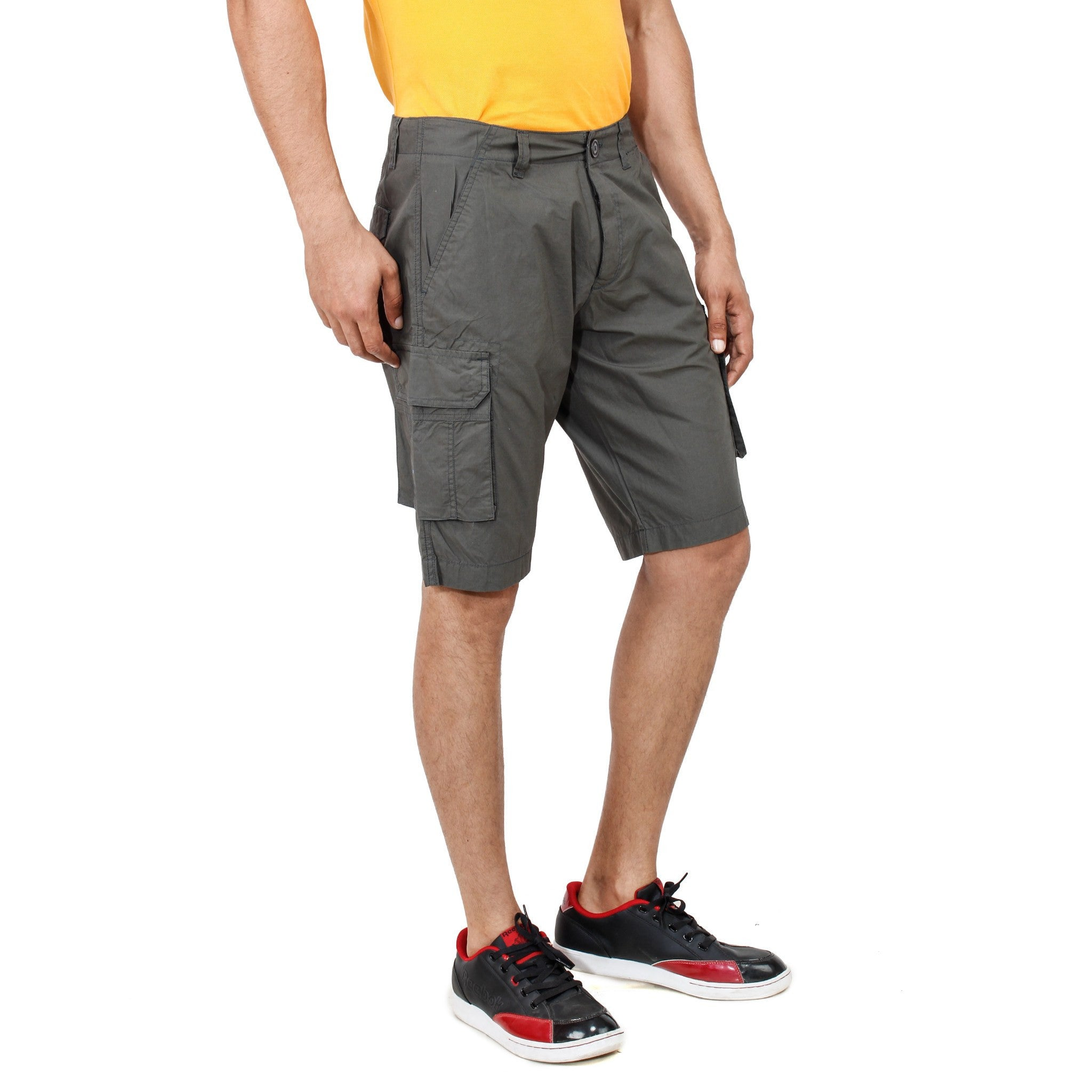 Uber Dimgray Pop Shorts right side view