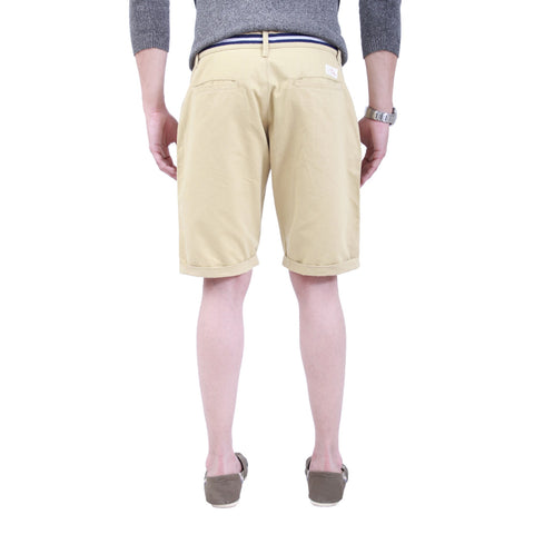 Beige Fish Shorts