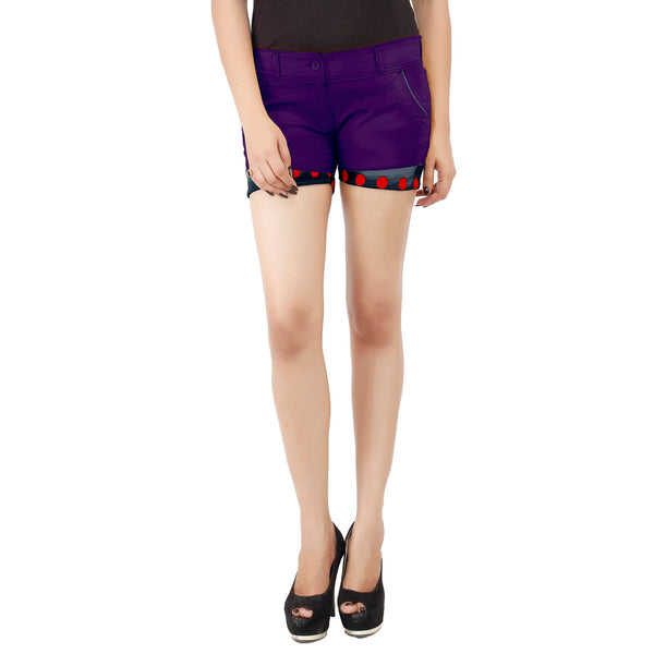 Purple Magenta Payton Shorts - uber-urban