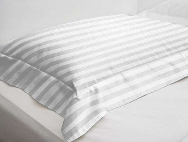 300 Thread Count Stripe Pillow Cover (Pack of 2) - uber-urban