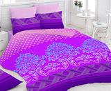 Pack of 2 Bedsheets and 4 Pillow Covers. Value Set